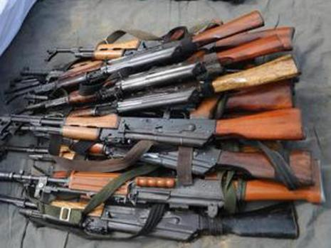 Illegal arms import into Nigeria