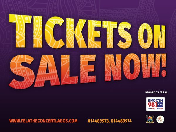 Tickets now selling! The broadway musical 'fela! The concert; produced by smooth fm