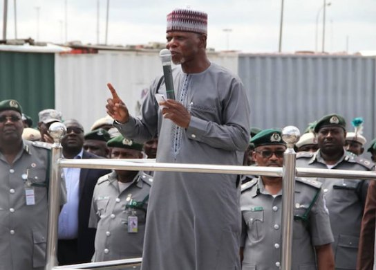 Customs at seme command nets N701m in August
