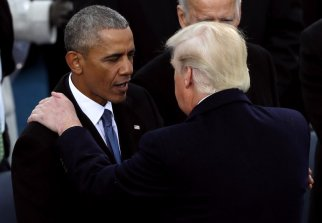Obama denies Trump claim he wiretapped him during campaign