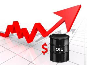 Oil price gains on fall in US rig count