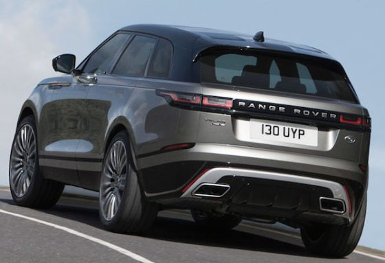 Range Rover Velar revealed at London Design Museum