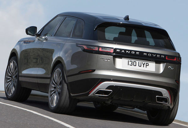 Range Rover Velar revealed at London Design Museum