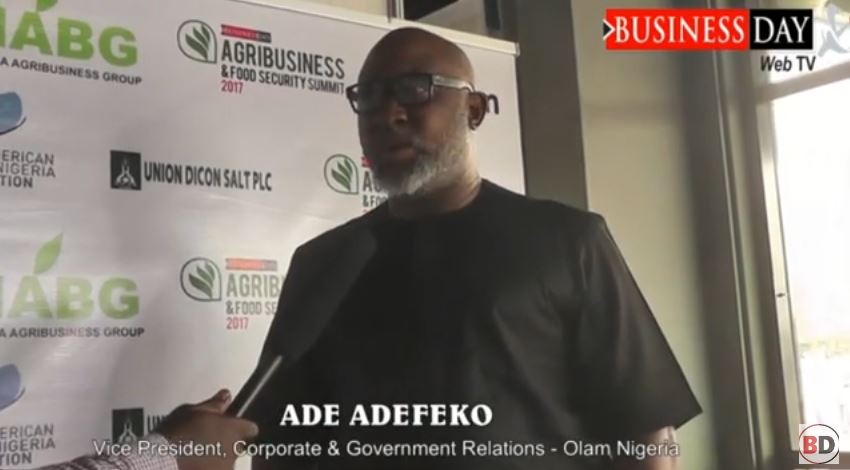 Private sector players should collaborate to boost agric production-Adefeko