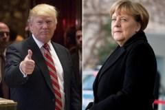 Trump, Merkel meet at White House