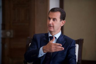 al-Assad says chemical attack '100% fabrication'
