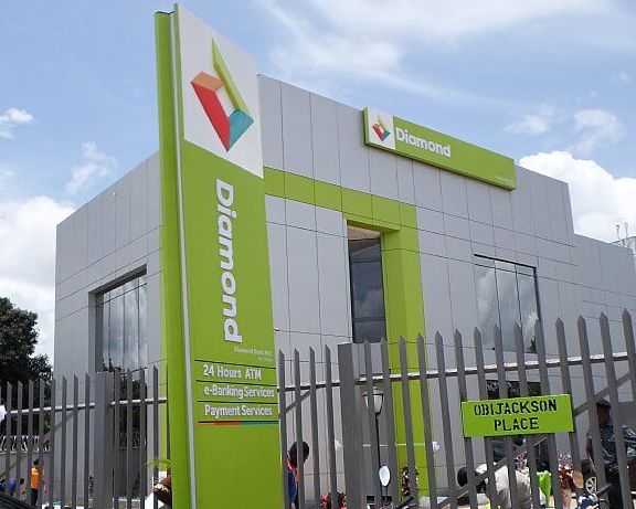 Diamond Bank-building