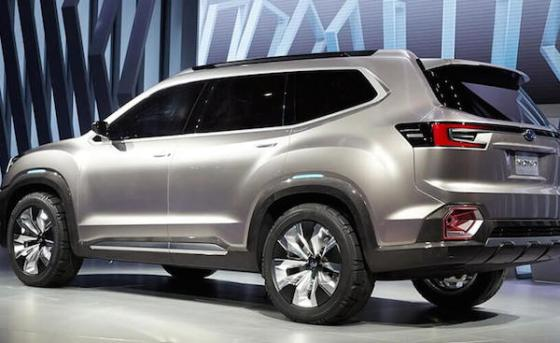 New Subaru Ascent aims high on crossover SUVs
