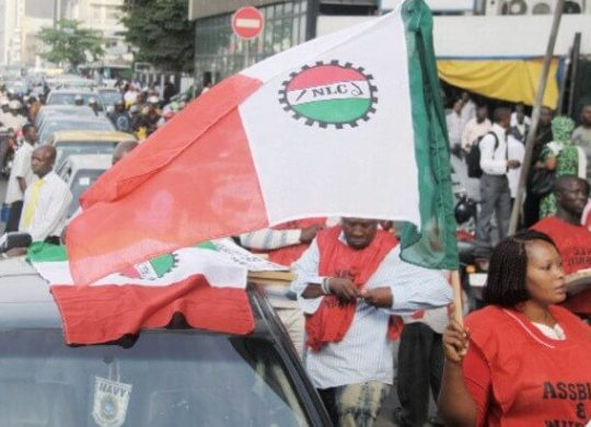 NLC stages protest over casualisation of Nigerian workers