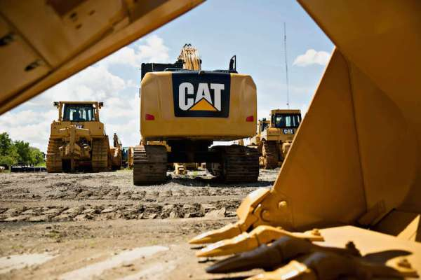 Efficiency, maintenance costs drive CAT's three next generation excavators