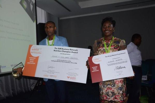 Nigeria's Kennie-O Cold Chain Logistics emerges SUN Africa's nutrition winner