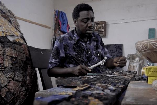 Gerald Chukwuma to exhibit wood slate sculptures at ART X Lagos 2018