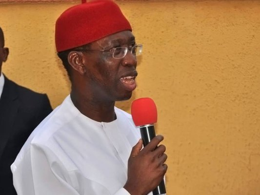 Gov. Okowa swears-in new commissioners, urges them to give their best