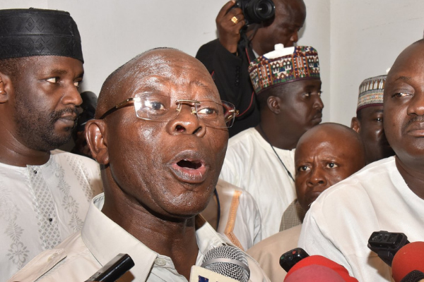 Oshiomhole will lead APC to victory in 2019 - Ebegbulem