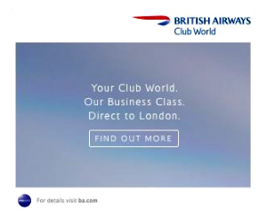 British Airways 300×250