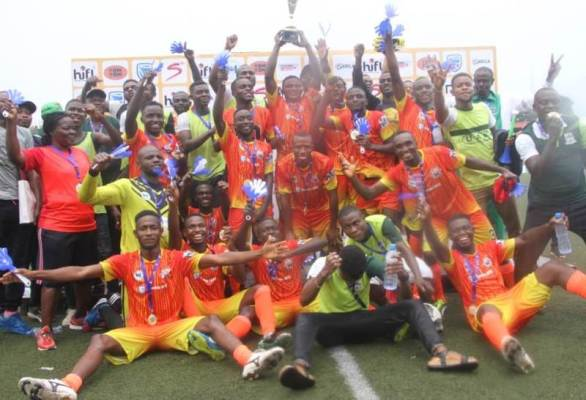 UAM tillers win maiden edition of Higher Institutions Football League