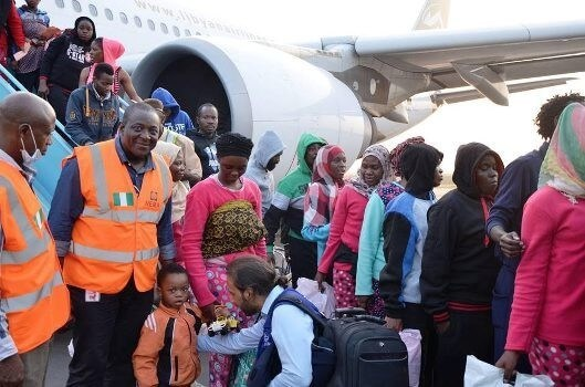 Nigerians in libya