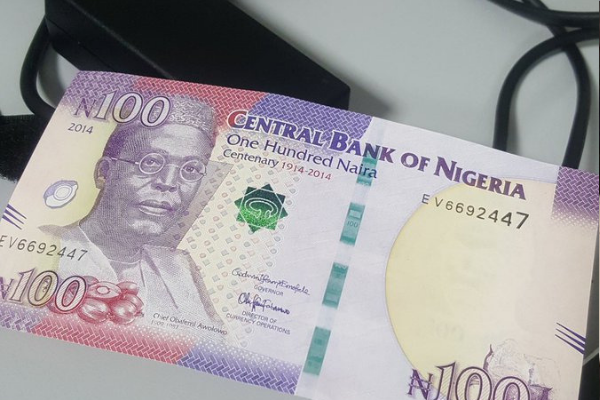 No plan to phase out N100 notes - CBN