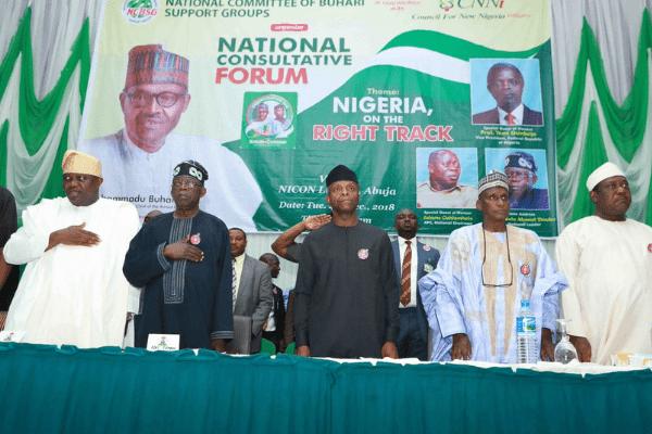 Oshiomhole, Governors, Senators shun Buhari campaign