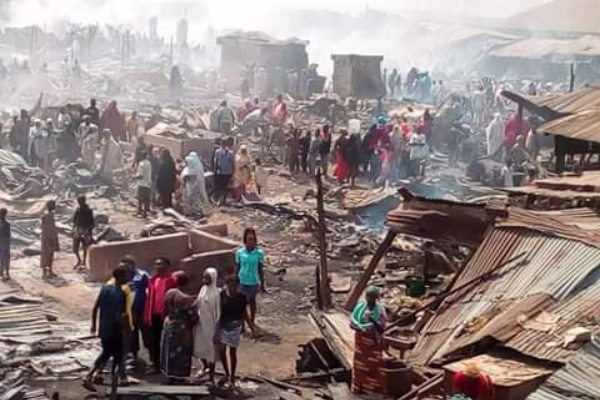 Benue Governor offers N30m relief to fire victims