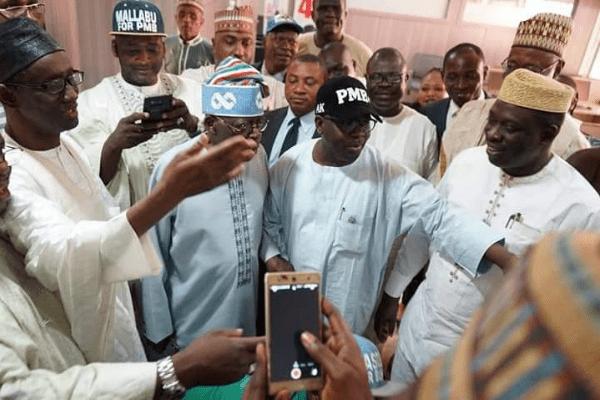 I am not here to buy votes or make promises- Tinubu tells Lagos APC