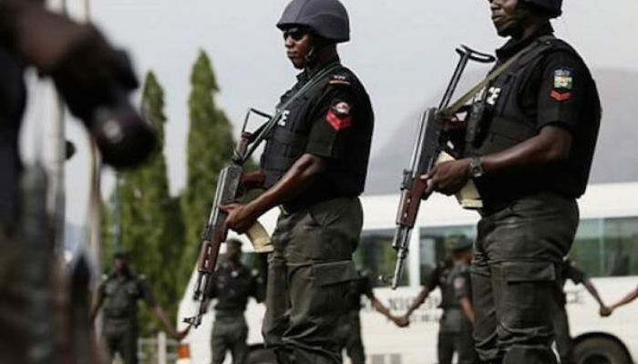 Warehouse looting: Police parade 51 suspected looters, recover 54 bags of rice in Abuja