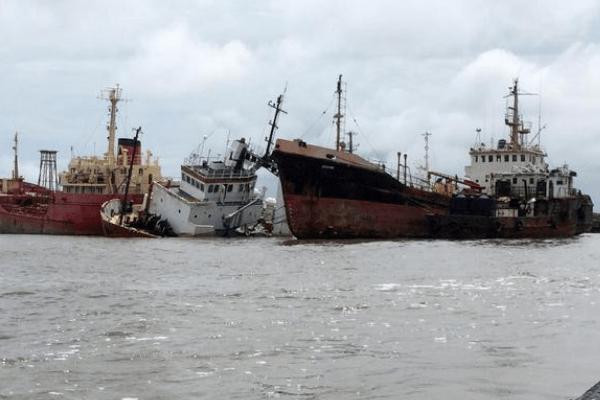 Nigerian waters drops 36%