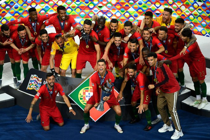 Cristiano Ronaldo inspires Portugal to first UEFA Nations ...