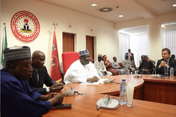 NASS will not be a rubber stamp under me - Lawan