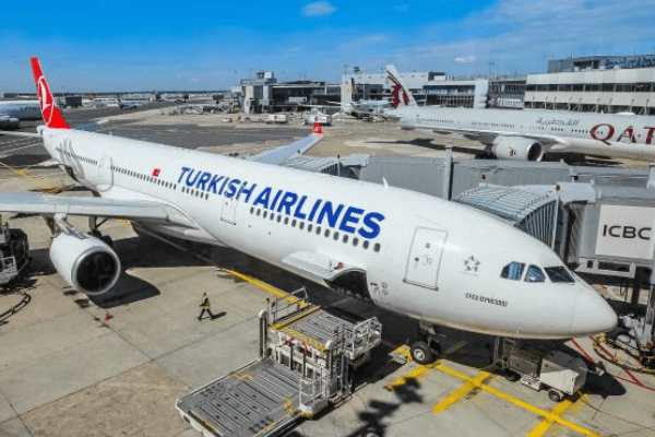 Aircraft belonging to Turkish Airlines, Middle East Airlines collide at Lagos airport