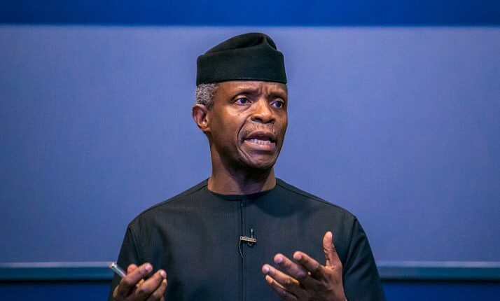 Osinbajo calls on Nigerians to commit more to excellence in all their Undertaking