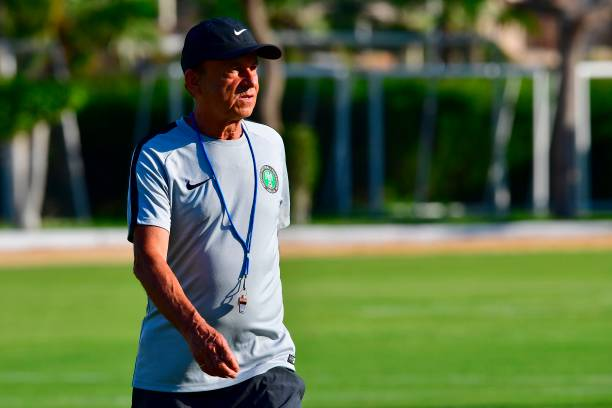 Rohr says ready to accept NFF's terms and sign new Super Eagles contract