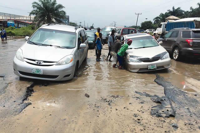 Reconstructing Lagos collapsed roads for mobility