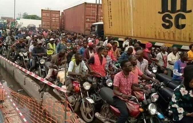 Checking the menace of 'Okada', 'Keke' riders and Danfo drivers on Lagos' roads