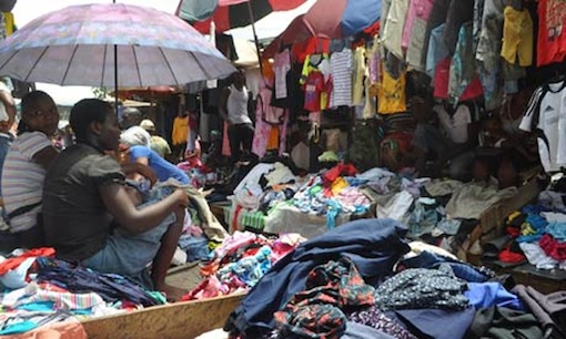 Despite border closure, second-hand clothing, frozen foods flood Nigerian markets