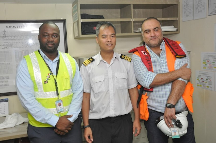 Again, WACT successfully handles another gearless containership