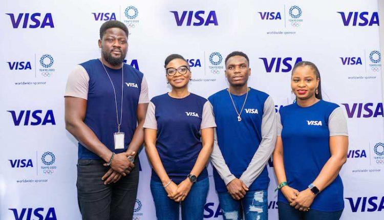 Visa signs Divine Oduduru to their Tokyo 2020 cohort