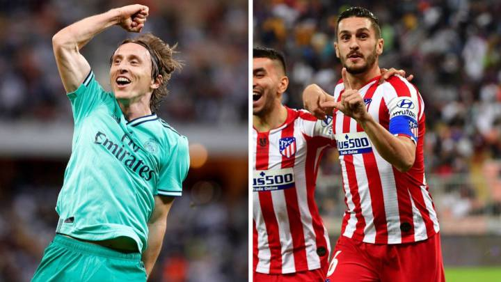 Atlético battle Real Madrid in Spanish Super Cup final