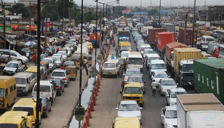 Lagosians pay price in choking traffic in megacity without rail