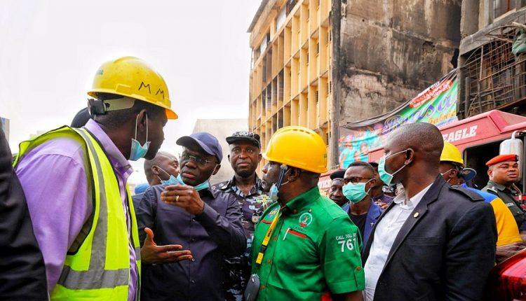 Fire outbreaks: Sanwo-Olu to build modern markets on Lagos Island