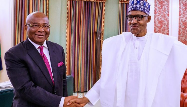 Governor Uzodinma rallies support for the military against insurgency