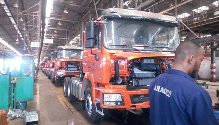 'TSS Shacman trucks will meet Dangote's logistics needs'