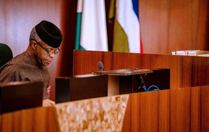Power, Oil and gas dominate agenda as Osinbajo presides over FEC