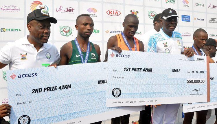 East African nations shine at 2020 Access Bank Lagos City Marathon