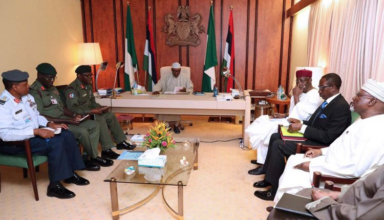 Insecurity: Buhari silent, as Service Chiefs tenure expires