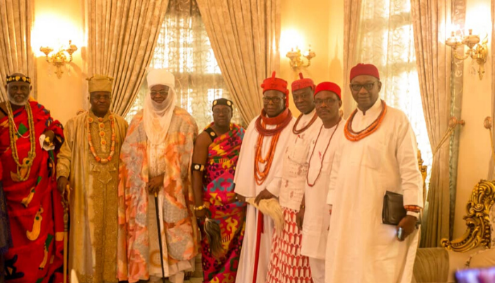 Presidency, royal fathers applaud King Chu for Peace advocacy