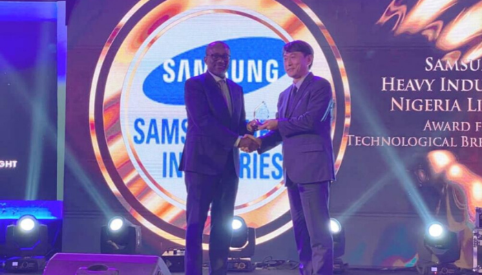 Samsung Heavy honoured at NIPS for Egina FPSO technological feat