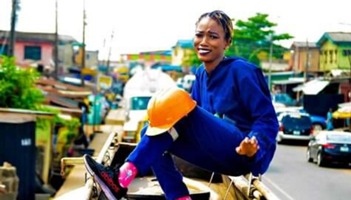 24-year-old female tanker driver shuns stereotypes to chase income