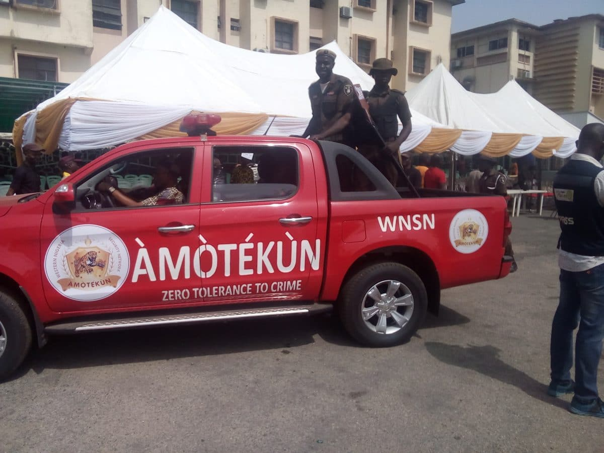 Oyo Approves Funds for Take off of Amotekun, re-accreditation of ...