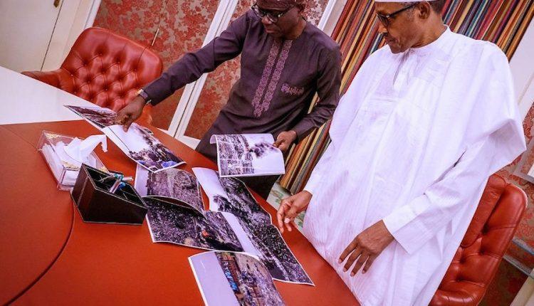 Lagos explosion: Sanwo-Olu briefs Buhari on extent of damage